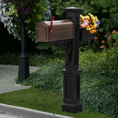 Mayne Westbrook Plus Mail Post in Black