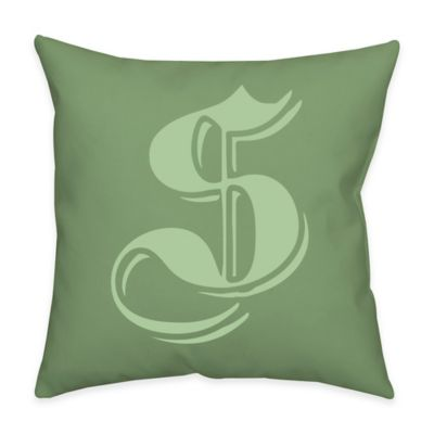 16-Inch Square Outdoor Throw Pillow