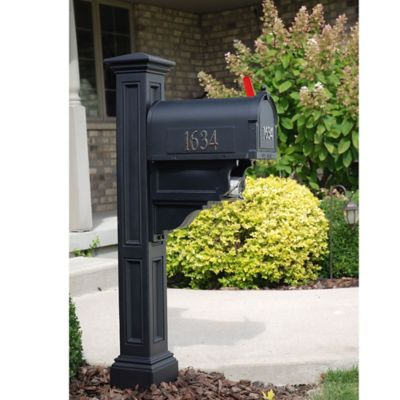 Mayne Charleston Plus Mail Post in Black