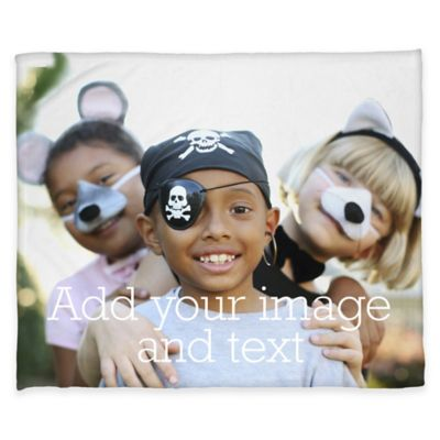 Fleece Medium Photo Blanket