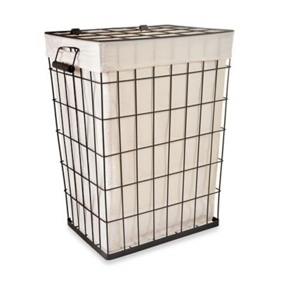 Lamont Home Loren Metal Hamper