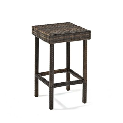 Crosley Palm Harbor 24-Inch Wicker Counter Height Stools (Set of 2)