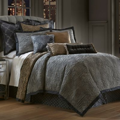 Waterford Couture® Luxury Italian-Made Trentino Queen Comforter