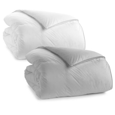 Wamsutta® Dream Zone® 370-Thread-Count Twin Down Comforter in White