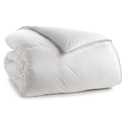 370-Thread-Count Twin Down Comforter in White
