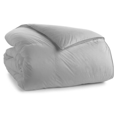 370-Thread-Count Down Full/Queen Comforter in Grey