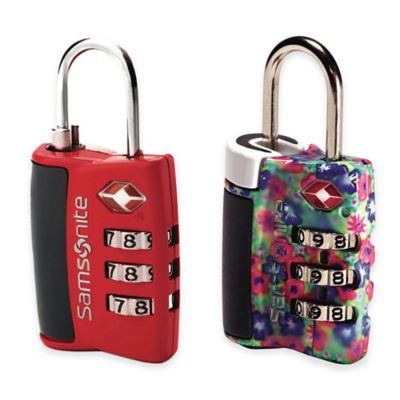 Travel Locks for Luggage
