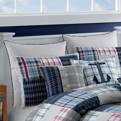 Nautica® Chatham European Pillow Sham in Stone
