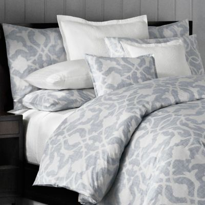 Barbara Barry® Poetical European Pillow Sham in Denim
