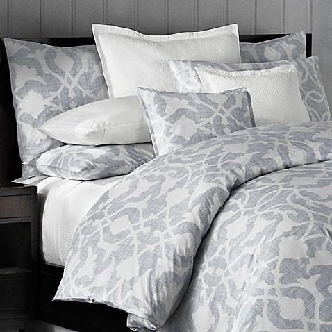 Barbara Barry 174 Poetical Pillow Shams In Denim Bed Bath