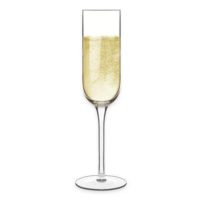 Luigi Bormioli Sublime Champagne Flutes (Set of 4)