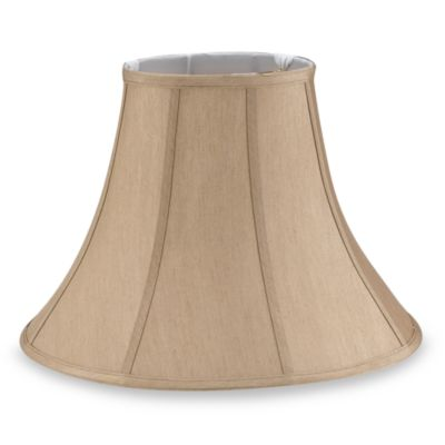 Mix and Match Bell-Shaped Beige Lamp Shade