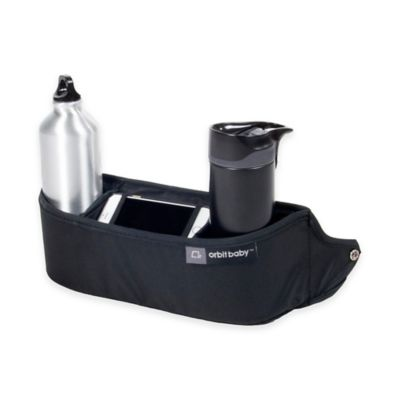 Orbit Baby O2 Cupholder + Organizer in Black