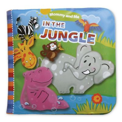 "Mommy & Me Bath Books ""In the Jungle"""