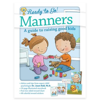 "Barron's Educational Series ""Ready To Go! Manners: A Guide to Raising Good Kids"" by Dr. Janet Hall"