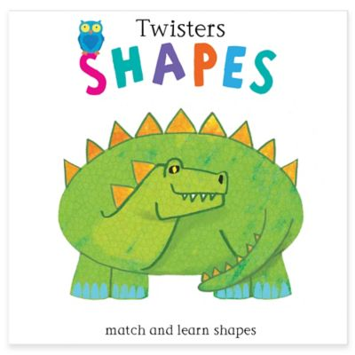 "Barron's Educational Series ""Twisters: Shapes"" by Anton Poitier"