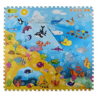 Creative Baby Under the Sea 9-Piece i-Mat™
