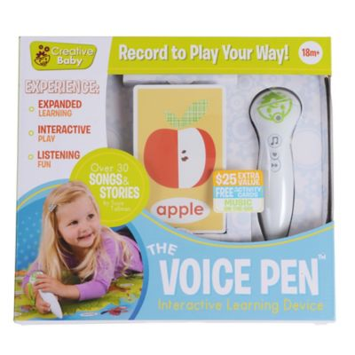 Creative Baby i-Mat™ Voice Pen with Activity Cards