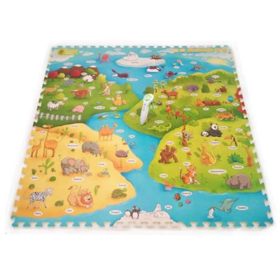 Creative Baby My Animal World 9-Piece i-Mat™ with Voice Pen