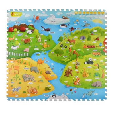 Creative Baby My Animal World 4-Piece i-Mat™