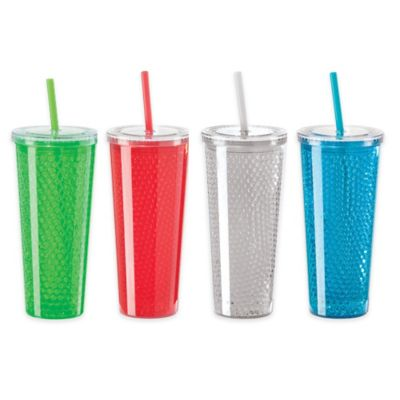 Oggi™ 20 oz. Double Wall Chill-to-Go Tumbler in Clear