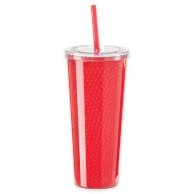 Oggi™ 20 oz. Double Wall Chill-to-Go Tumbler in Red