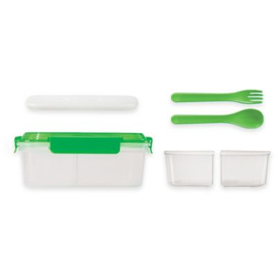 Oggi™ Chill To Go 7-Piece Food Container Set in Green
