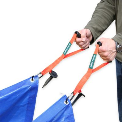 EZ Tarp Tugger Handles in Orange (Set of 2)