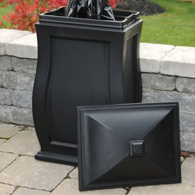 Mayne Mansfield Storage Bin in Black
