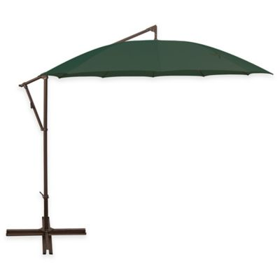 Forest Green Cantilever Umbrella