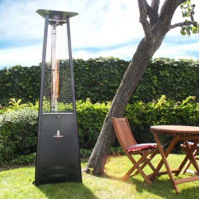 Lava Heat Italia Propane Patio Heater in Stainless Steel