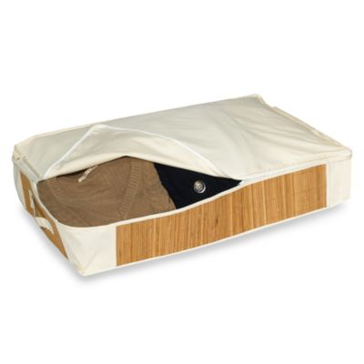 Bamboo Under-Bed Storage Bag