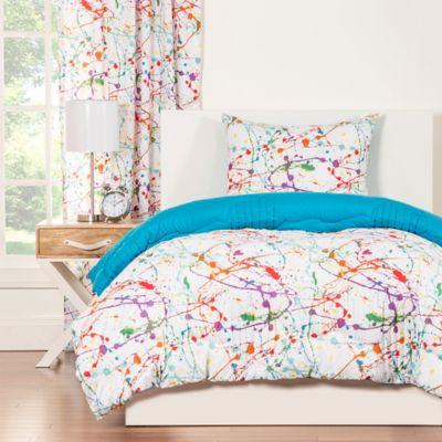 Crayola® Splat 3-Piece Reversible Twin Comforter Set