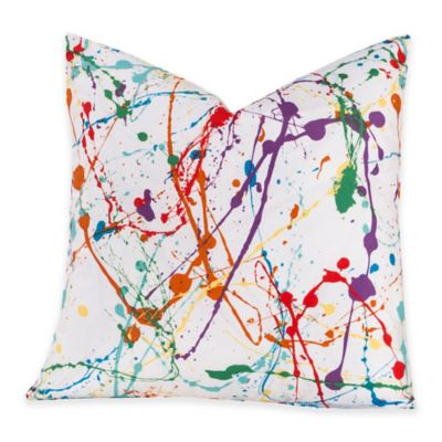 Crayola® Splat 20-Inch Square Throw Pillow
