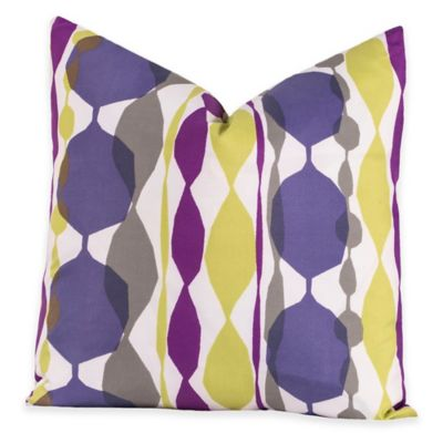 Crayola® Bejeweled 20-Inch Square Throw Pillow in Purple