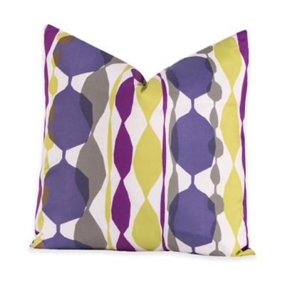 Crayola® Bejeweled 16-Inch Square Throw Pillow in Purple