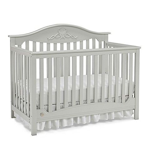 Fisher Price 174 Mia 4 In 1 Crib In Misty Grey Buybuy Baby