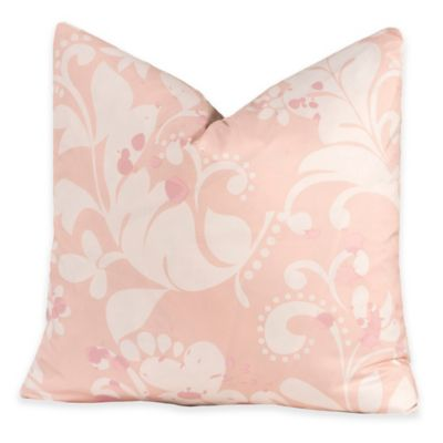 Crayola® Eloise 20-Inch Square Throw Pillow in Pink