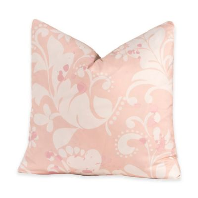 Crayola® Eloise 18-Inch Square Throw Pillow in Pink