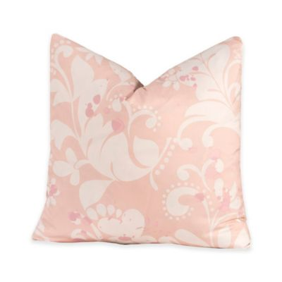 Crayola® Eloise 16-Inch Square Throw Pillow in Pink