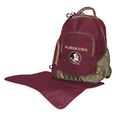 Lil Fan Florida State Diaper Backpack