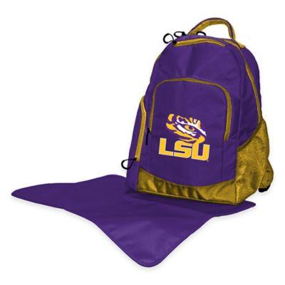 Lil Fan LSU Diaper Backpack