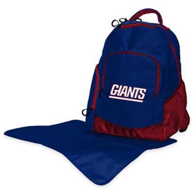 Lil Fan NFL New York Giants Diaper Backpack