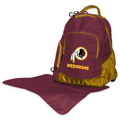 Lil Fan NFL Washington Redskins Diaper Backpack