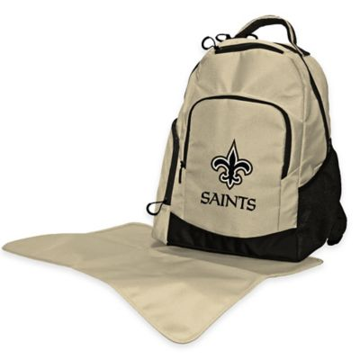 Lil Fan NFL New Orleans Saints Diaper Backpack