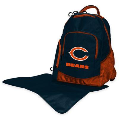 Lil Fan NFL Chicago Bears Diaper Backpack