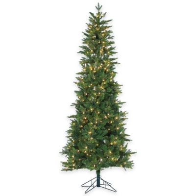 Salem Spruce 7.5-Foot Pre-Lit Christmas Tree with Clear Lights