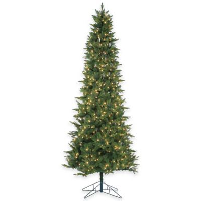 Salem Spruce 9-Foot Pre-Lit Christmas Tree with Clear Lights