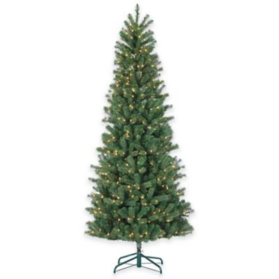 Montgomery Pine 7.5-Foot Pre-Lit Christmas Tree with Clear Lights