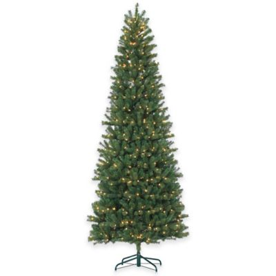Montgomery Pine 9-Foot Pre-Lit Christmas Tree with Clear Lights